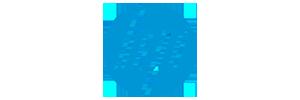 Logo hp blauw