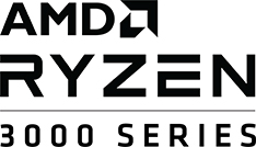 amd ryzen 3000 series logo