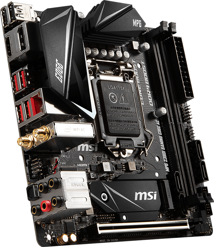MSI Z390I Gaming Edge AC