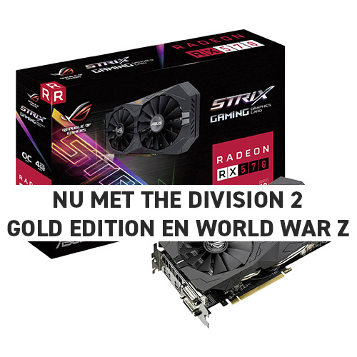 ASUS ROG STRIX Radeon RX 570 4GB GAMING OC