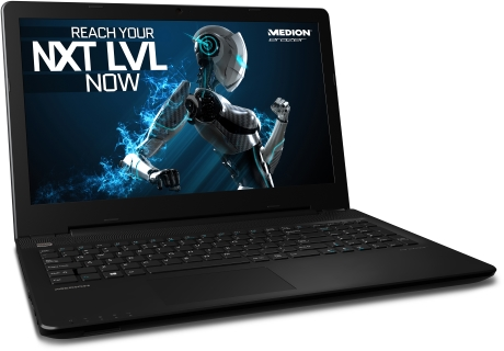 Medion Erazer P6661 notebook