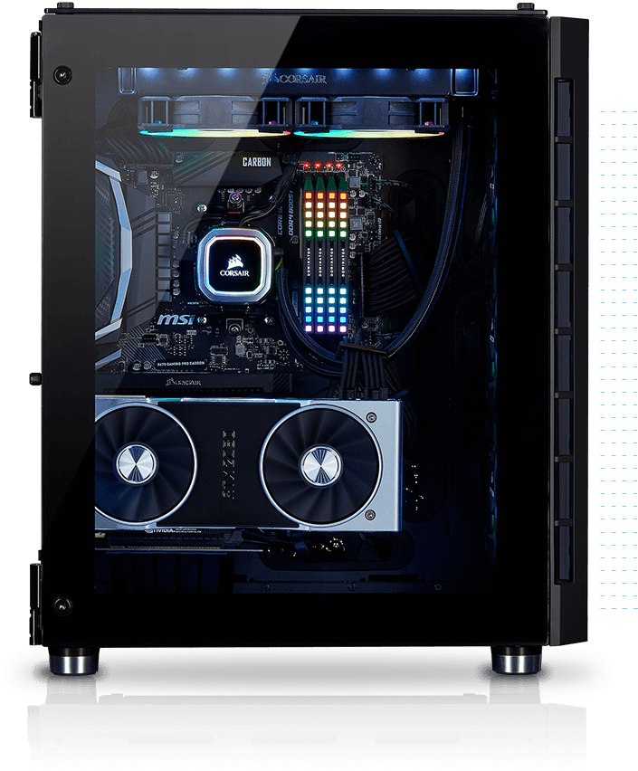 corsair sidepannel black