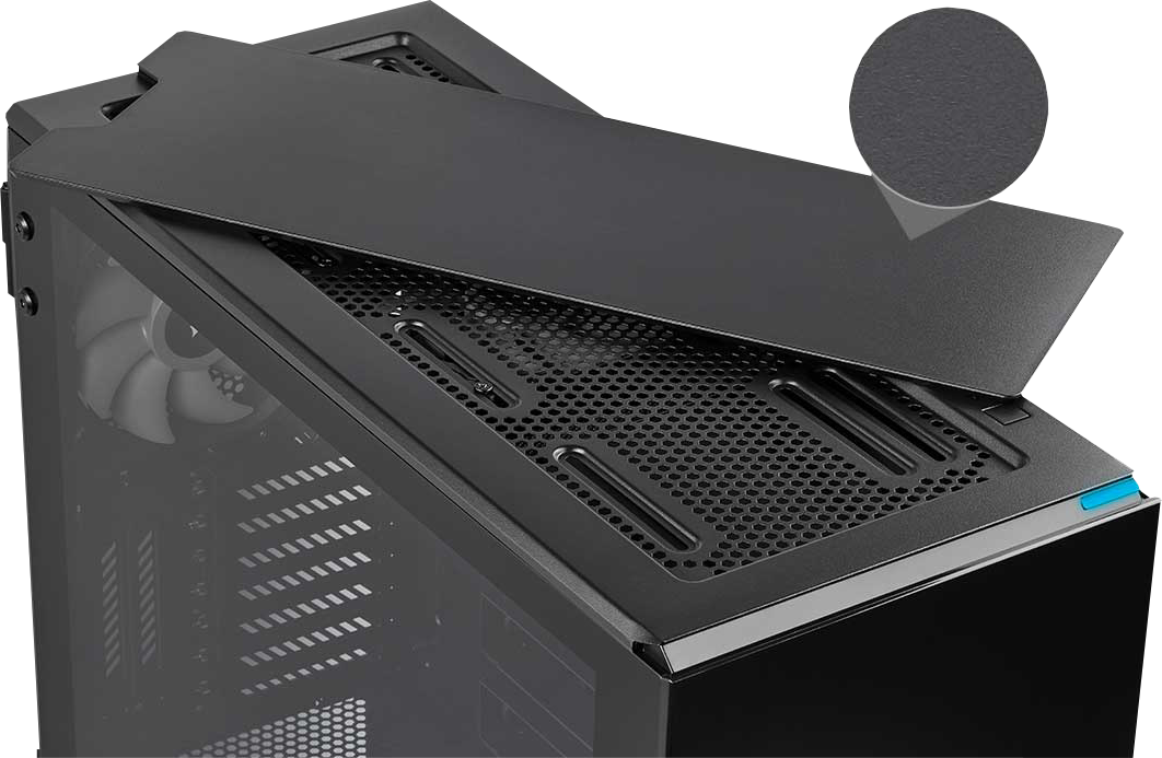 corsair case black