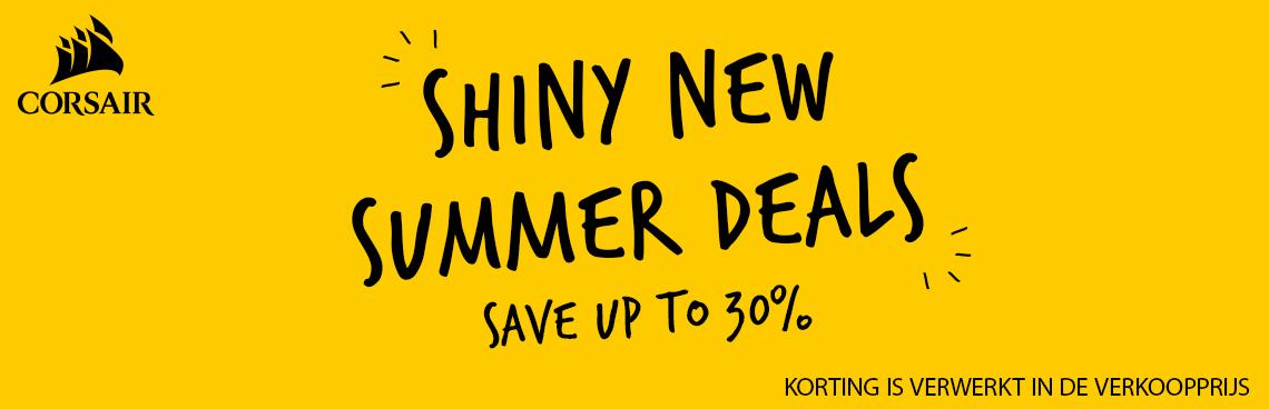 Corsair Shiny New Summer header
