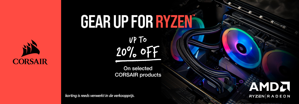Corsair Gear up for Ryzen header