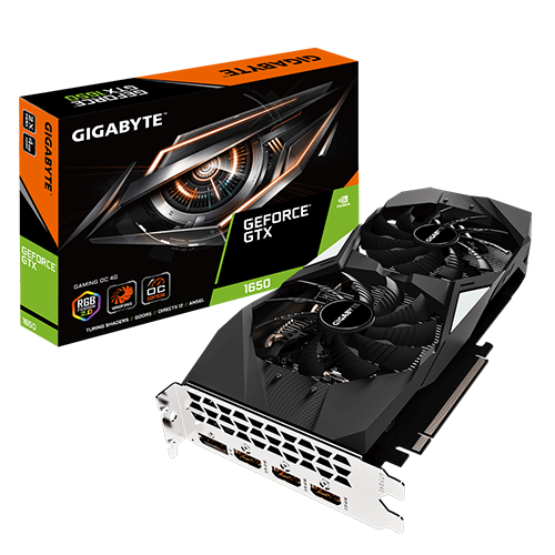 nvidia geforce gigabyte 1650