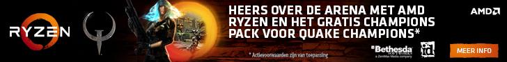 Gratis Champions Pack voor Quake Champions bij aankoop van een deelnemende AMD Ryzen 7 of Ryzen 5 processor