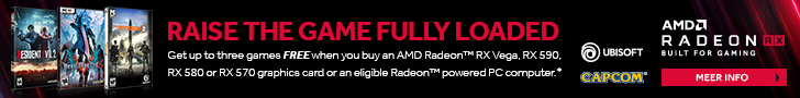 AMD Radeon Raise The Game Fully Loaded Game Bundle