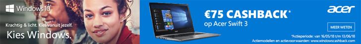Microsoft Acer Swift 3 cashback