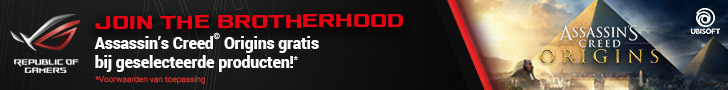 Gratis game Assassins Creed bij aankoop geselecteerde monitor of videokaart