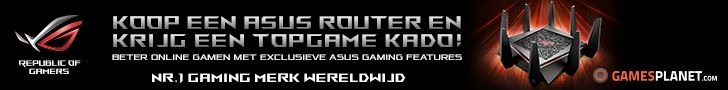 Gratis game bij aankoop van een geselecteerde router