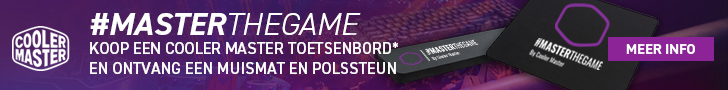 CoolerMaster Game Gear Actie