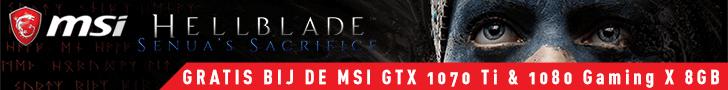 Krijg een Steam-code voor Hellblade Senua's Sacrifice bij geselecteerde MSI-videokaarten