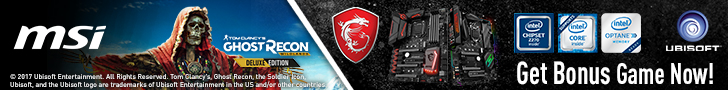 MSI Ghost Recon Wildlands banner