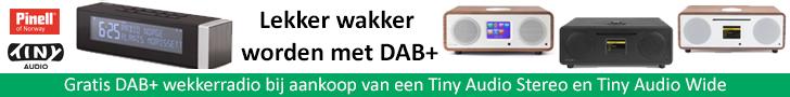 Tiny DAB gratis wekkerradio