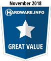 HWI Great Value Award - November 2018
