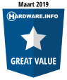 HWI Great Value Award - Maart 2019