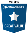HWI Great Value Award - Mei 2019