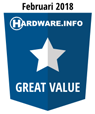 HWI Great Value Award - Februari 2018