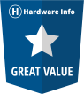 Hardware Info Great Value Award