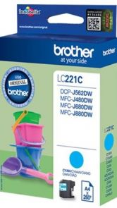 Brother LC221C - Cyaan