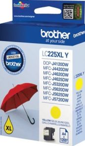 Brother LC225XLY - Geel
