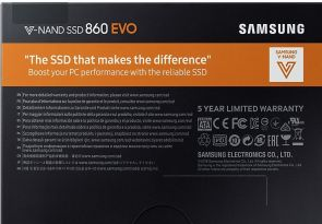 Samsung 860 EVO Series - Solid state drive