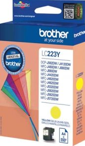 Brother LC223Y - Geel