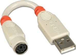 Lindy PS/2 naar USB Adapter Cable