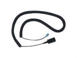 Plantronics Lightweight U10P Polaris Bottom Cable - Kabel voor telefoonhoorn