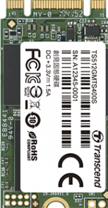 Transcend MTS400 - Solid state drive