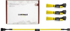 Noctua NA-SEC1 chromax.yellow - verlengkabel voor ventilatorstroom