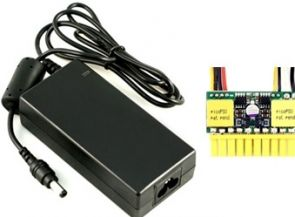 Mini-Box picoPSU-90 + 80 Watt Adapter - Voeding ( intern )