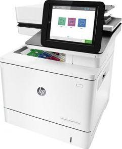HP LaserJet Managed MFP E57540dn - Multifunctionele printer - kleur - laser  - Legal (216 x 356 mm)/A4 (210 x 297 mm) (origineel) - A4/Legal